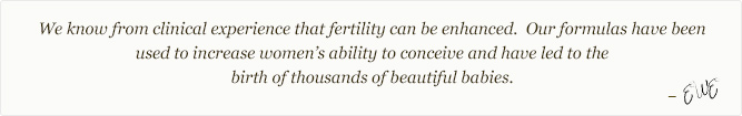 Fertility & Pregnancy